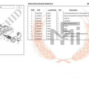 INDUCTION & EXHAUST MANIFOLD